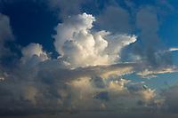 Clouds over Bora Bora.