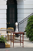 June 8, 2012 The Lombardi Trophy stands as the New York Giants visit the White House as President Barack Obama honors the Super Bowl Champs. © mpi34/MediaPunch Inc. NORTEPHOTO.COM