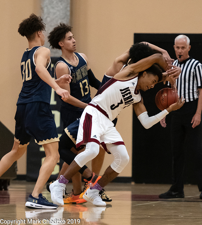 JSerra High School basketball, sports, action, athletes, crowds