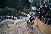 U23 CX World Champion Joris Nieuwenhuis (NED/Sunweb)<br /> <br /> U23 race<br /> <br /> UCI cyclocross World Cup Koksijde / Belgium 2017