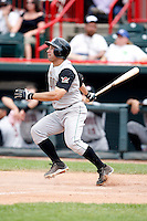 June 25, 2009:  Second Baseman Jim Negrych (2) of the Altoona Curve at bat during a game at Jerry Uht Park in Erie, PA.  The Altoona Curve are the Eastern League Double-A affiliate of the Pittsburgh Pirates.  Photo by:  Mike Janes/Four Seam Images