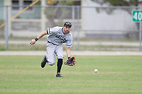 Edgewood Eagles center fielder Bryan Sternig (1) during the first game of a double header against the Bethel Wildcats on March 15, 2019 at Terry Park in Fort Myers, Florida.  Bethel defeated Edgewood 6-0.  (Mike Janes/Four Seam Images)