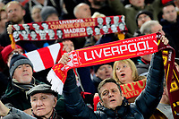 LIVERPOOL, GREAT BRITAN - NOVEMBER 5 :  fans of Liverpool pictured during the UEFA Champions League match between Liverpool FC and KRC Genk on November 05, 2019 in Liverpool, Great Britan, 5/11/2019 <br /> Liverpool 5-11-2019 Anfield <br /> Liverpool - Genk <br /> Champions League 2019/2020<br /> Foto Photonews / Panoramic / Insidefoto <br /> Italy Only