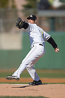 Starting pitcher Brett Moorhouse #13 of the South Bend Silver Hawks in action versus the Lansing Lugnuts at Coveleski Stadium April 15, 2009 in South Bend, Indiana. (Photo by Brian Westerholt / Four Seam Images)