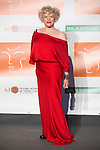 Magüi Mira poses for the photographers during 2015 Theater Ceres Awards photocall at Merida, Spain, August 27, 2015. <br /> (ALTERPHOTOS/BorjaB.Hojas)