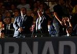 Enrique Cerezo during La Liga match. Aug 18, 2019. (ALTERPHOTOS/Manu R.B.)Enrique Cerezo president of Atletico de Madrid during the Spanish La Liga match between Atletico de Madrid and Getafe CF at Wanda Metropolitano Stadium in Madrid, Spain