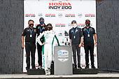 #88: Colton Herta, Andretti Harding Steinbrenner Autosport Honda, Michael Andretti, Bryan Herta, George Steinbrenner, Mike Harding