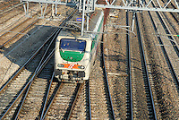 - Trenitalia, goods train at Rho (Milan) station....- Trenitalia, treno merci alla stazione di Rho (Milano)