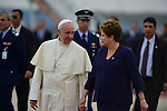 Pope Francis in Brazil by Cezaro de Luca and Renzo Gostoli