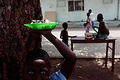 Conakry, Guinea<br /> April 2001<br /> <br /> The separation children's center in Conakry run by the ICR/ UAM. The children have been separated from their families due to the war in Sierra Leone or Liberia.