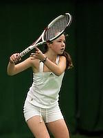 6-12-09, Almere, Tennis, REAAL winterjeugdcircuit, Masters,  Sophie van Rosendael