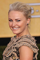 LOS ANGELES, CA - JANUARY 18: Malin Akerman at the 20th Annual Screen Actors Guild Awards held at The Shrine Auditorium on January 18, 2014 in Los Angeles, California. (Photo by Xavier Collin/Celebrity Monitor)