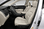 Front seat view of a 2020 Cadillac XT4 Premium Luxury 5 Door SUV front seat car photos