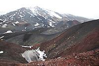 Ätna, Etna, Krater, Lavagestein, Lava, Vulkan, karge Vulkanlandschaft, Italien, Sizilien, Mount Etna, volcano