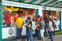 27-5-09, France, Paris, Tennis, Roland Garros, Atmosphere