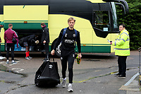 Brentford goalkeeper, Simon Andersson arrives at the ground ahead of kick-off during Bromley vs Brentford B, Friendly Match Football at Hayes Lane on 3rd October 2020