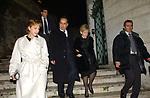 CENA DI NATALE A CASA DI MARIA ANGIOLILLO ROMA 2002