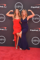 LOS ANGELES, USA. July 10, 2019: Katie Austin & Denise Austin at the 2019 ESPY Awards at the Microsoft Theatre LA Live.<br /> Picture: Paul Smith/Featureflash