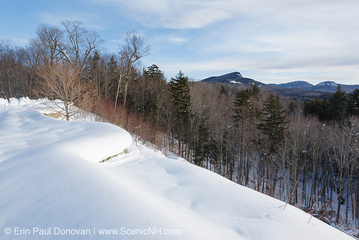View from Sugar Hill Scenic Vista along the Kancamagus Highway (route 112), which is one of New England's scenic byways located in the White Mountains, New Hampshire USA