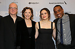"""Tracy Letts, Annette Bening, Francesca Carpanini, Hampton Fluker attends the Broadway Opening Night After Party for """"All My Sons"""" at The American Airlines Theatre on April 22, 2019  in New York City."""