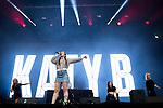© Joel Goodman - 07973 332324 . . 12/06/2016 . Manchester , UK . KATY B performs at the Parklife music festival at Heaton Park in Manchester . Photo credit : Joel Goodman