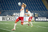 FOXBOROUGH, MA - OCTOBER 16: Thomas Roberts #23 of North Texas SC during a game between North Texas SC and New England Revolution II at Gillette Stadium on October 16, 2020 in Foxborough, Massachusetts.