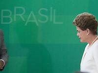 BRASILIA, DF, 19.11.2015 - DILMA-NEGROS-  A presidente Dilma Rousseff, durante a cerimônia comemorativa do Dia Nacional da Consciência Negra, no Palácio do Planalto, nesta quinta-feira, 19 (Foto:Ed Ferreira / Brazil Photo Press/Folhapress)