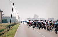 from the back of the peloton<br /> <br /> 99th Milano - Torino 2018 (ITA)<br /> from Magenta to Superga: 200km