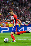 Lucas Hernandez of Atletico de Madrid in action during the UEFA Champions League 2017-18 match between Atletico de Madrid and Chelsea FC at the Wanda Metropolitano on 27 September 2017, in Madrid, Spain. Photo by Diego Gonzalez / Power Sport Images