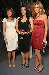 Susan Gamson, Maxi Ettehadieh and Sima Ladjevardian at the Art in the Park benefit at the home of Becca and John Thrash Wednesday May 20,2009.(Dave Rossman/For the Chronicle)
