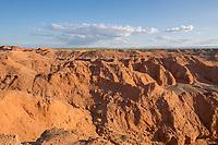 Mongolia, Gobi Gurvan Saikhan National Park, Gobi Desert, Flaming Cliffs. First nest of dinosaur eggs were found here in 1923.