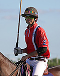 WELLINGTON, FL - NOVEMBER 25:  Scenes from USPA International Cup, Carlitos Gracida, Team USA greets the crowd as Team USA  defeats Team Brazil 9 - 7 in the final of the USPA International Cup at the Grand Champions Polo Club, on November 25, 2017 in Wellington, Florida. (Photo by Liz Lamont/Eclipse Sportswire/Getty Images)