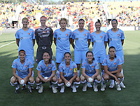 The Sky Blue FC starting 11 May 9, 2010