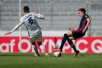 GUADALAJARA, MEXICO - MARCH 18: Sam Vines #13 of the United States chases down a loose ball during a game between Costa Rica and USMNT U-23 at Estadio Jalisco on March 18, 2021 in Guadalajara, Mexico.