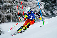 29th December 2020; Semmering, Austria; FIS Womens Giant Slalom World Cup Skiing; Laurence St Germain of Canada during her 1st run of women Slalom competition of FIS ski alpine world cup at the Panoramapiste in Semmering