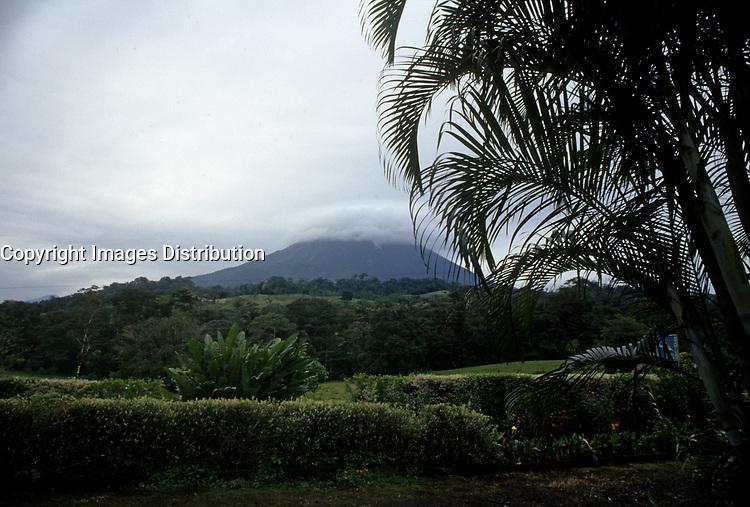 Costa Rica - file Photo -arenal volcano