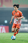 Jeju United Defender Chung Woon in action during the AFC Champions League 2017 Group H match Between Jeju United FC (KOR) vs Gamba Osaka (JPN) at the Jeju World Cup Stadium on 09 May 2017 in Jeju, South Korea. Photo by Marcio Rodrigo Machado / Power Sport Images