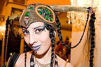"""Ariadne Revel, cos-playing as Dragonfly, at the 12th annual Katsucon, a convention for fans of Japanese comics, animation (anime), and video games, held in Washington D.C. on February 18, 2006 and attended by over 8,000 people.<br /> <br /> Cosplay, short for """"costume play"""", is the act of creating and wearing outfits of one's favorite anime, comic, or video game and often acting out that characters actions."""