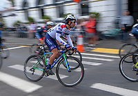 Yudai Arashiro (Japan/KINAN Cycling Team). Stage three of the NZ Cycle Classic UCI Oceania Tour (Martinborough circuit) in Wairarapa, New Zealand on Friday, 17 January 2020. Photo: Dave Lintott / lintottphoto.co.nz