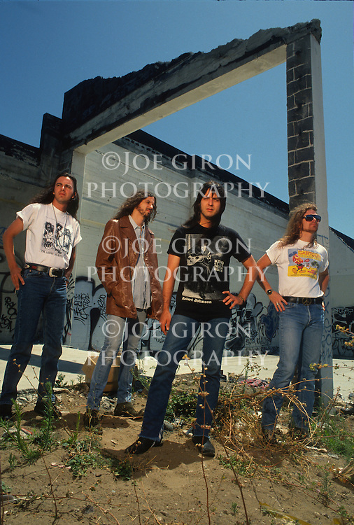 Various portrait sessions of the rock band, Cry of Love