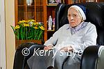 Sister Borgia Shannon celebrating her 100th birthday in the Sonas Ashborough Nursing Home in Milltown on Tuesday.