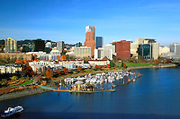 Waterfront at RiverPlace and Portland, Oregon