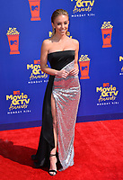 SANTA MONICA, USA. June 16, 2019: Sydney Sweeney at the 2019 MTV Movie & TV Awards at Barker Hangar, Santa Monica.<br /> Picture: Paul Smith/Featureflash