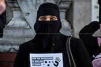 22.11.2013 - Anjem Choudary's Islamic Roadshow demo in China Town