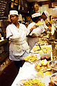Serving lunch at Mother's Restaurant, CBD, 2004