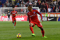Harrison, NJ - Thursday March 01, 2018: Rony Martínez. The New York Red Bulls defeated C.D. Olimpia 2-0 (3-1 on aggregate) during a 2018 CONCACAF Champions League Round of 16 match at Red Bull Arena.