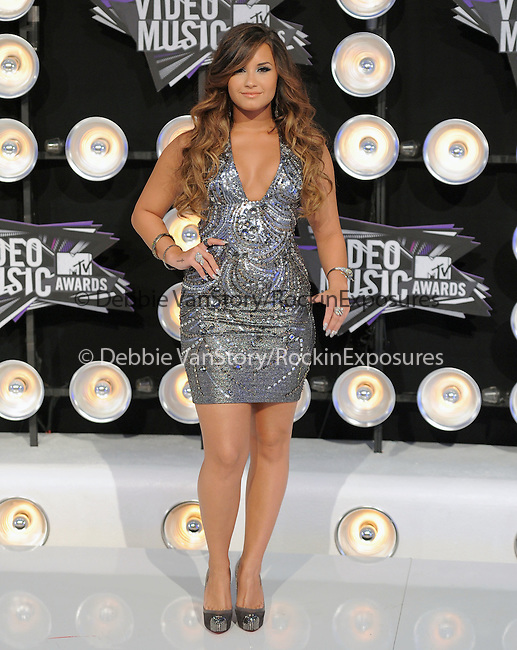 Demi Lovato at The 2011 MTV Video Music Awards held at Nokia Theatre L.A. Live in Los Angeles, California on August 28,2011                                                                   Copyright 2011  DVS / Hollywood Press Agency