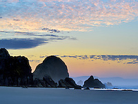 Sunrise at Harris Beach State Park, Oregon