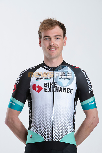Dion Smith (NZL) Team BikeExchange men's squad potrait, Spain. 22nd January 2021.<br /> Picture: Sara Cavallini/GreenEDGE Cycling | Cyclefile<br /> <br /> All photos usage must carry mandatory copyright credit (© Cyclefile | Sara Cavallini/GreenEDGE Cycling)