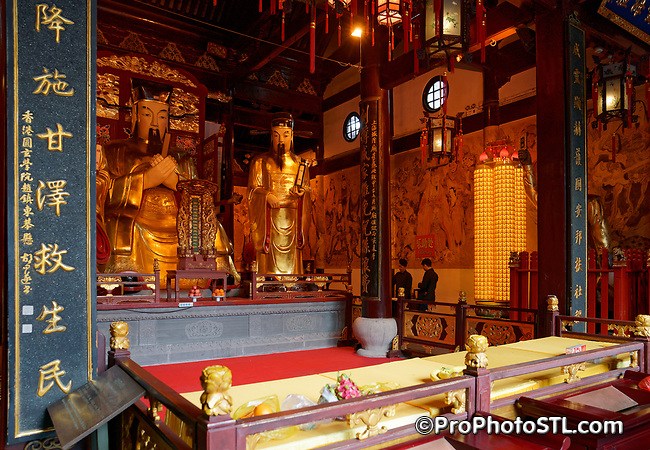 Old City God Temple in Shanghai, China